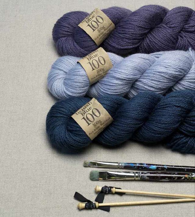British Blue 100 Yarn