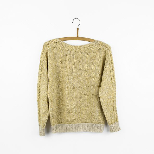 C 6 (Cable) Pullover