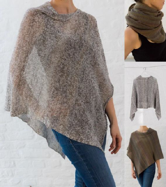 Let Poncho Ito Anleitung Pattern Zum Download Wolle Design