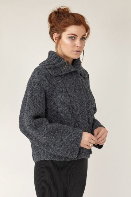 EDGE: Rowan Brushed Fleece/Rock XS:10 S:10 M:11 L:11 XL:12 XXL:13