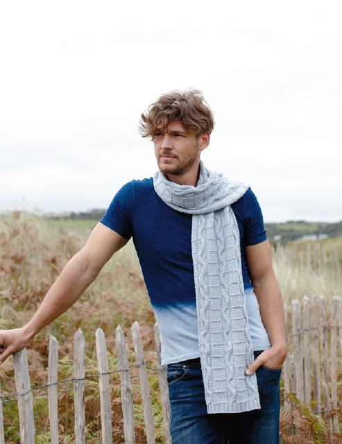 Modell: Dover Scarf