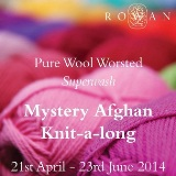 Knit-a-long Afghan (Wolle & Design - kreatives Stricken)
