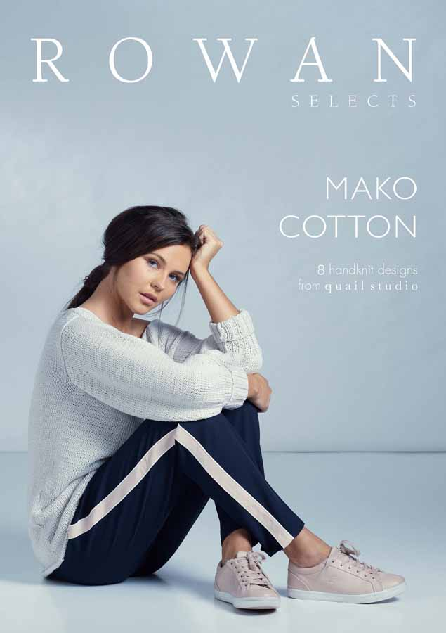 rowan selects mako cotton collection wolle design kreatives stricken. Black Bedroom Furniture Sets. Home Design Ideas