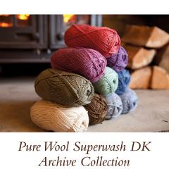 Pure Wool 4 Ply Archive Collection | Knit Rowan