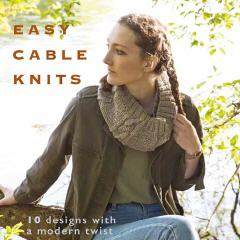 Easy Cable Knits - Martin Storey