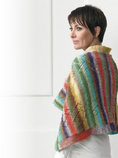 Schultertuch - Wrap | Noro Download Anleitung