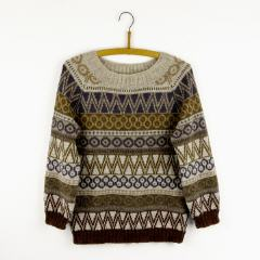 C 2 (Cable 2) Pullover | Strickpackung | Isager
