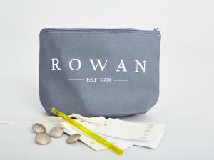 Rowan Compliments Zip Pouch/Bag  by della Q