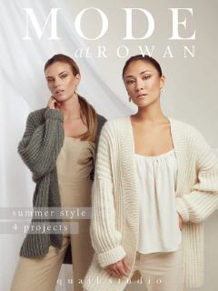 4 Projects - Summer Knits | MODE at  Rowan
